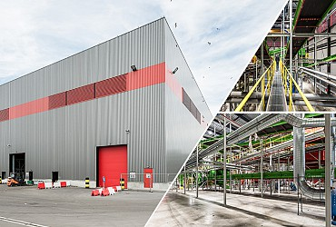 Nieuwe hal voor AVR in Rotterdam!