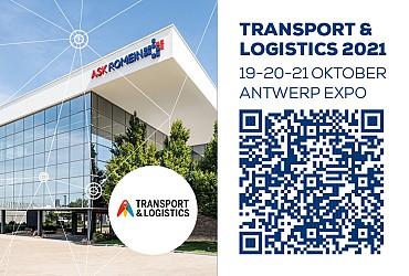 Kom ons bezoeken op Transport & Logistics 2021!