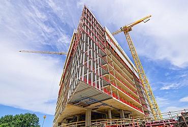 Mooi artikel over de bouw van het Amsterdam RAI Hotel (NL)