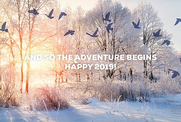 And so the adventure begins...Merry Xmas and a happy 2019! 🎄🎅