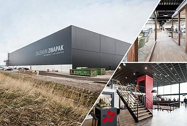 Hypermodern hoofdkantoor en distributiecentrum voor Dillewijn