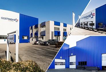 Nieuwe beplating voor de productiehal van Oostingh