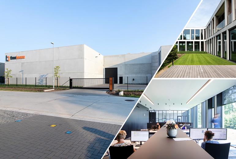 Nieuw bedrijfsgebouw voor Theo Boons!