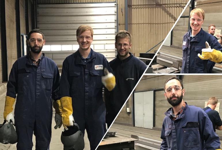 Engineering starts welding!